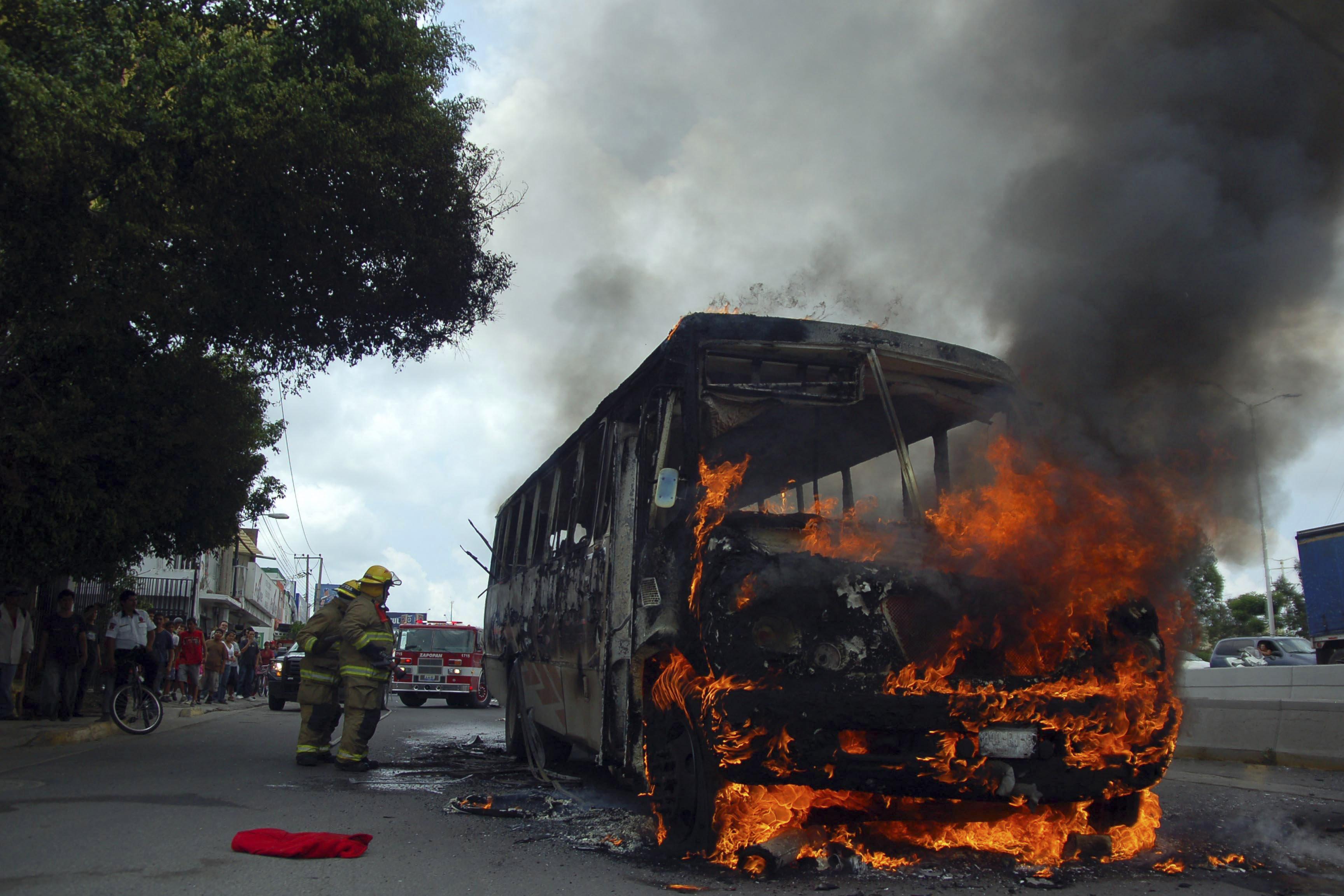 Hechos violentos en Jalisco, reacción a labores de seguridad