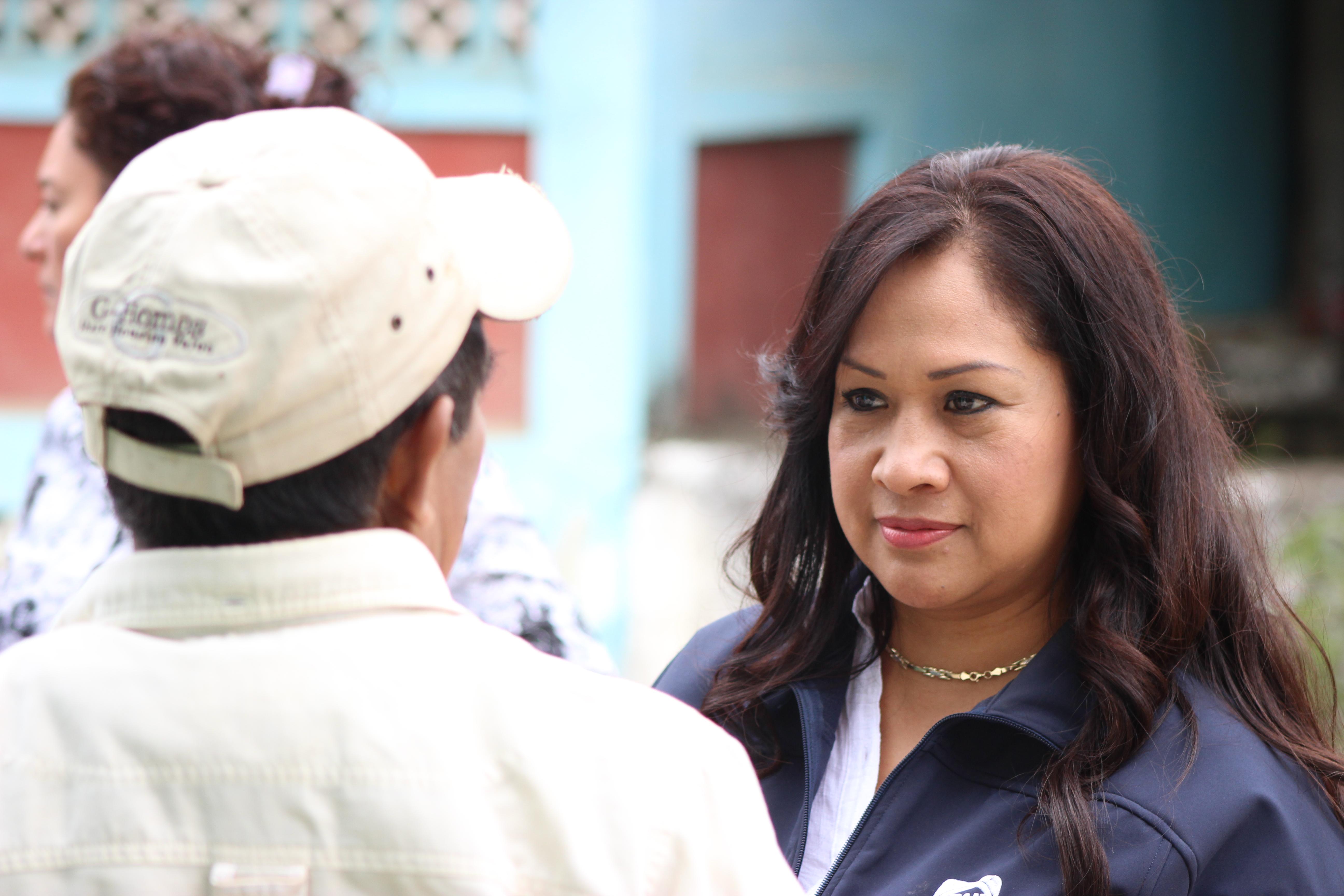 Mujeres de AC en contra de la discriminación y difamación a Sonia Mendoza