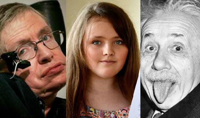 Niña De 12 Años Supera El Coeficiente Intelectual De Stephen Hawking Y Albert Einstein Astrolabio