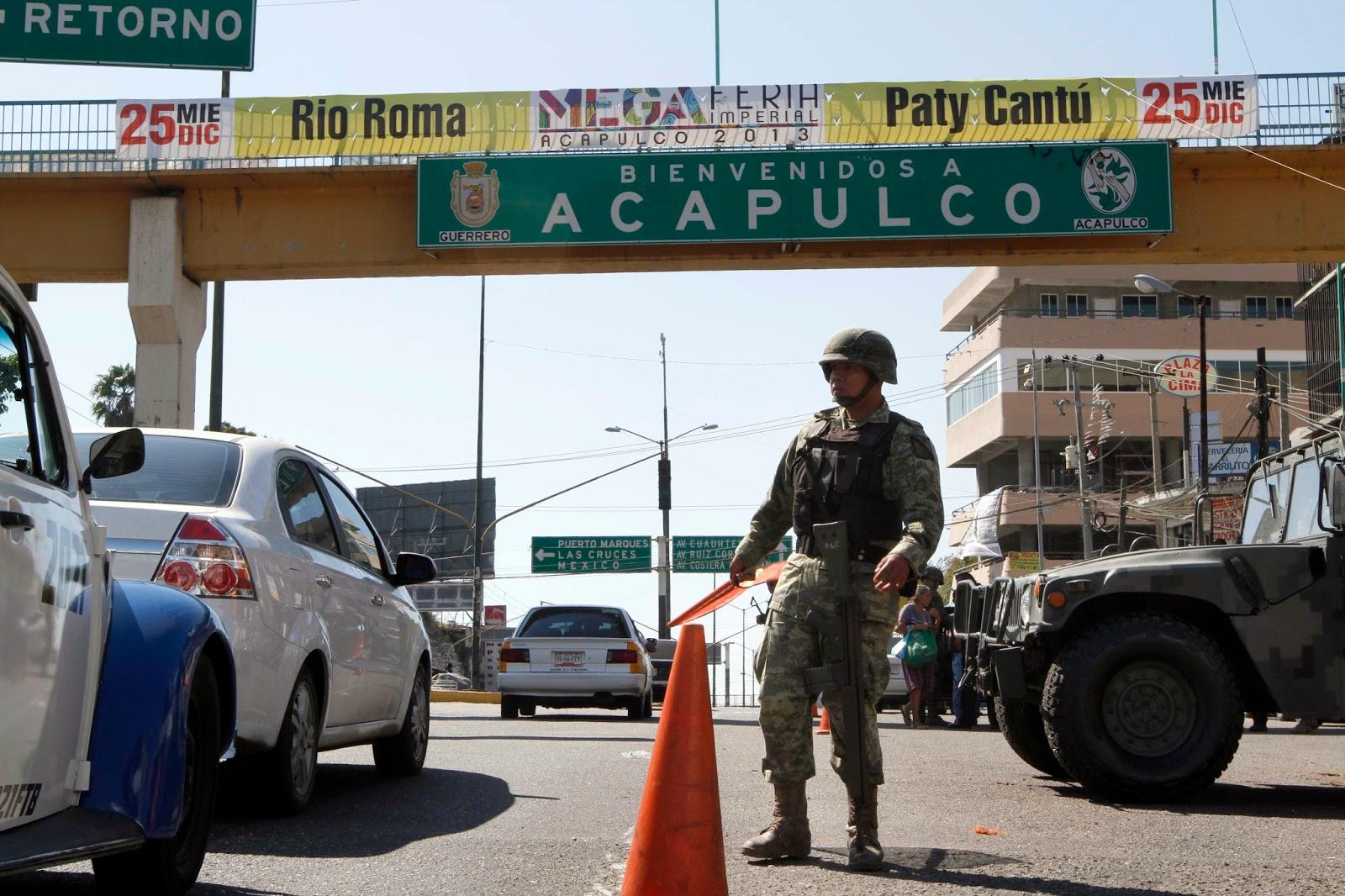 Resultado de imagen para acapulco guerrero violencia