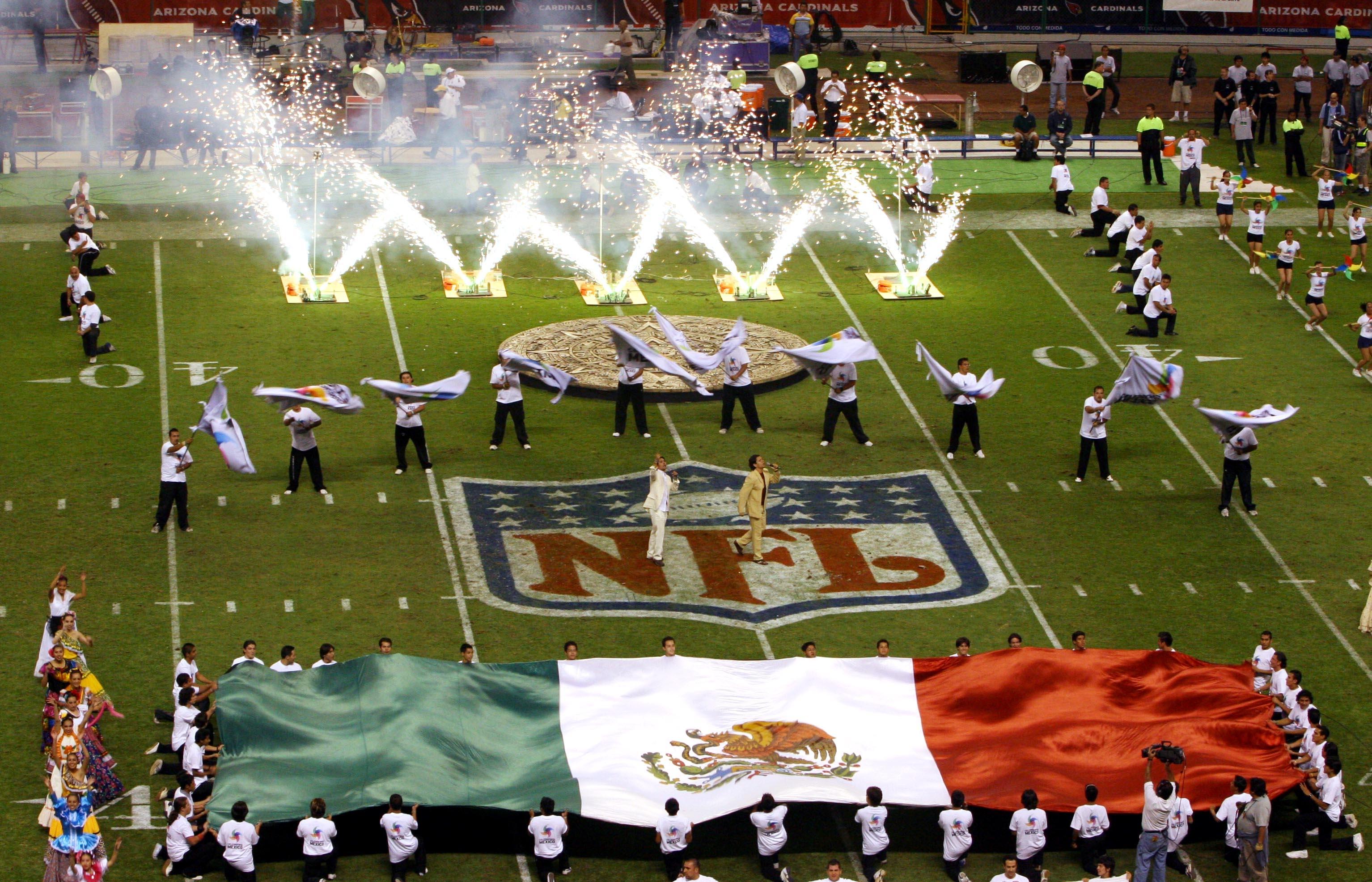 Oficial  La NFL regresa a México  c76cfaba7ed