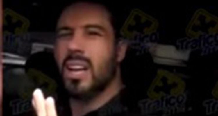 (Video) #LordCanelo: el hermano del boxeador presume influencias para evitar multa