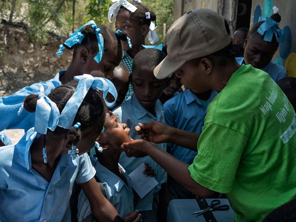 Un millón de vacunas contra el cólera llegan a Haití