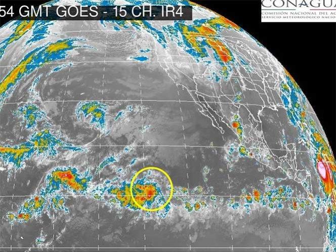 Alertan sobre posible ciclón tropical cerca de Baja California Sur