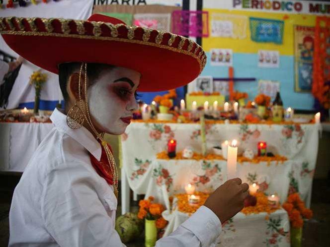 Evangélicos piden a sus niños no participar en el Día de Muertos