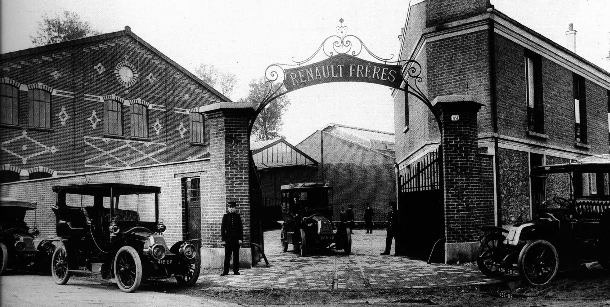 La oscura historia del fundador de Renault