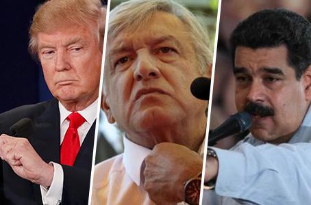 Expertos señalan semejanzas entre AMLO, Maduro y Donald Trump
