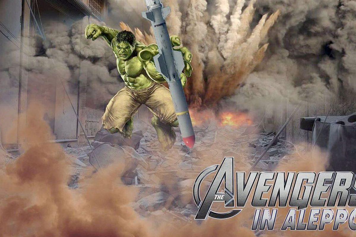 Niños piden a 'The Avengers' que salven Aleppo