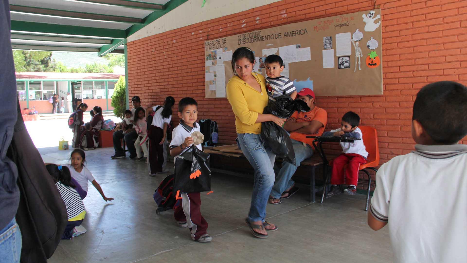 Escuelas en Oaxaca se van de 'puente' 6 días