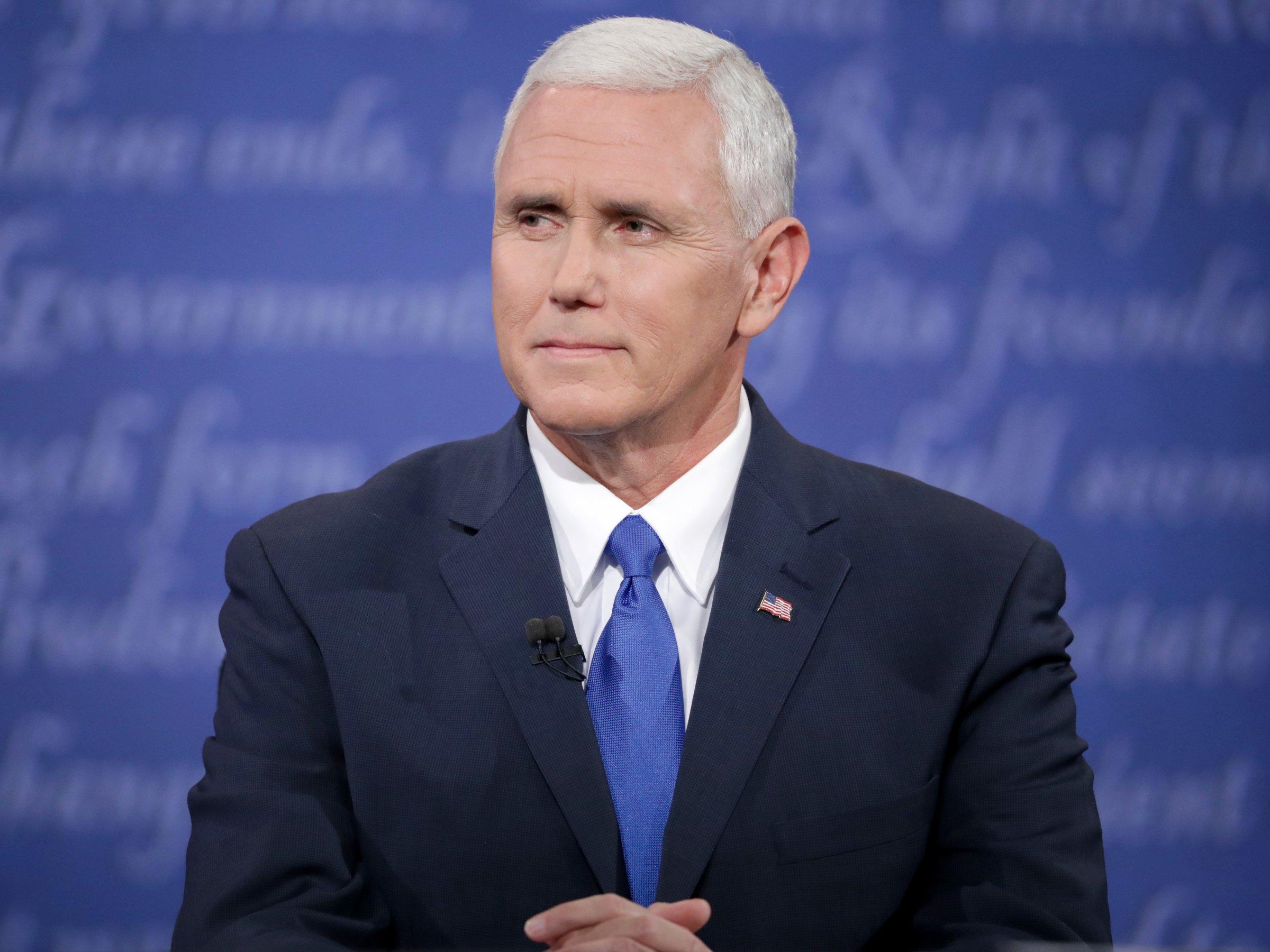 """""""Esa cosa mexicana"""", la frase que perseguirá a Mike Pence y Donald Trump"""