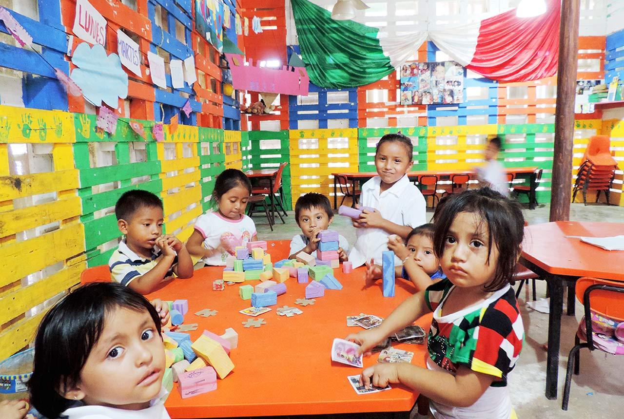Sin cursar kínder, 60% de niños de 3 años en México