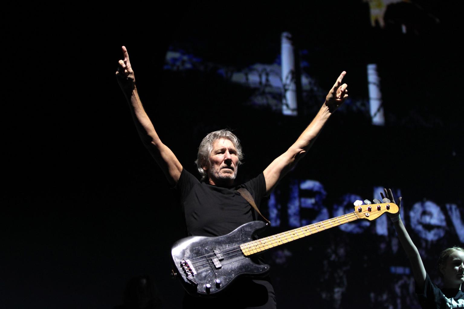 """Roger Waters en el Zócalo: Más de 200 mil personas claman """"¡Fuera Peña!"""""""