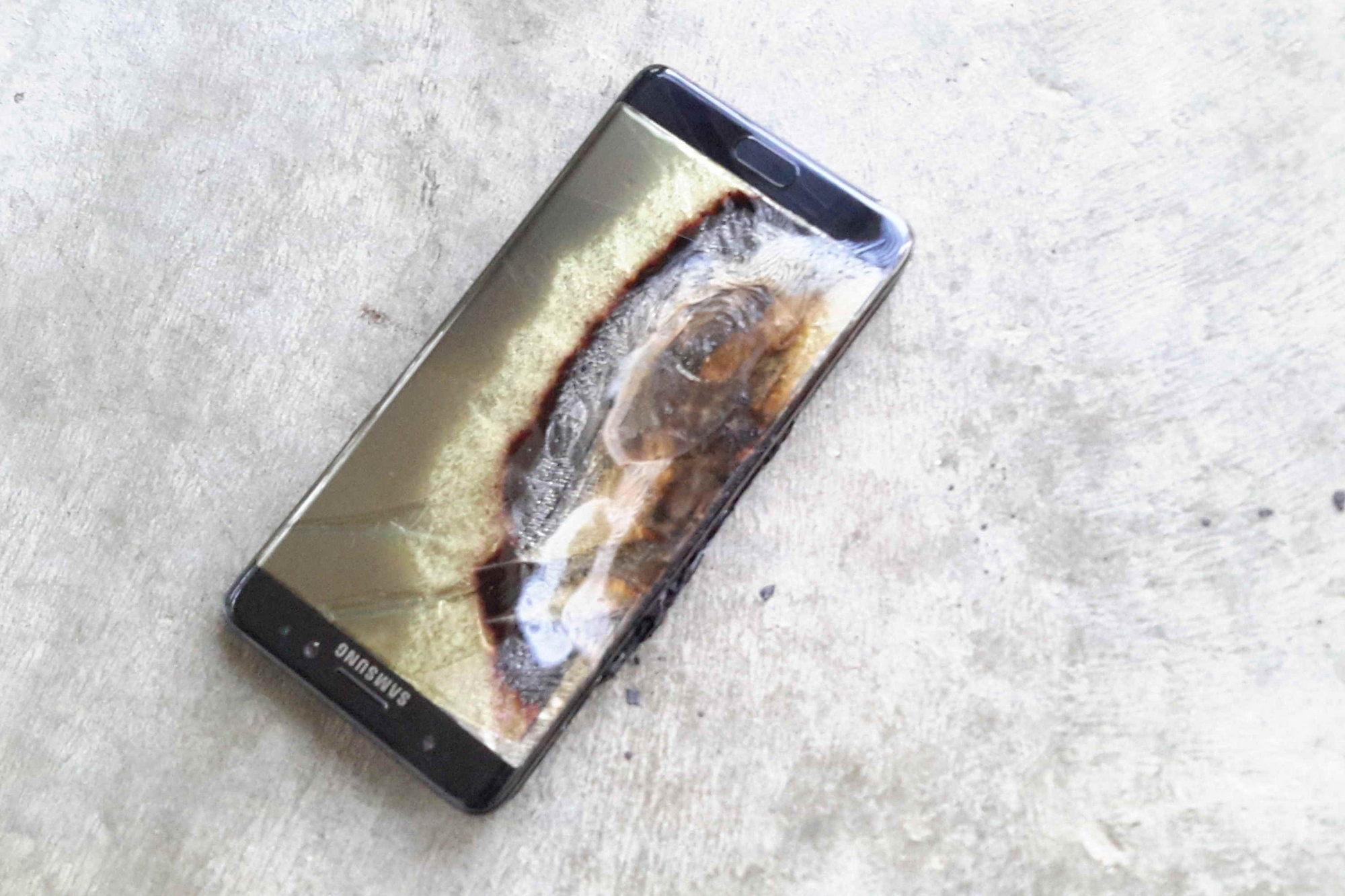 Samsung abandona para siempre la venta y fabricación del Galaxy Note 7 tras explosiones