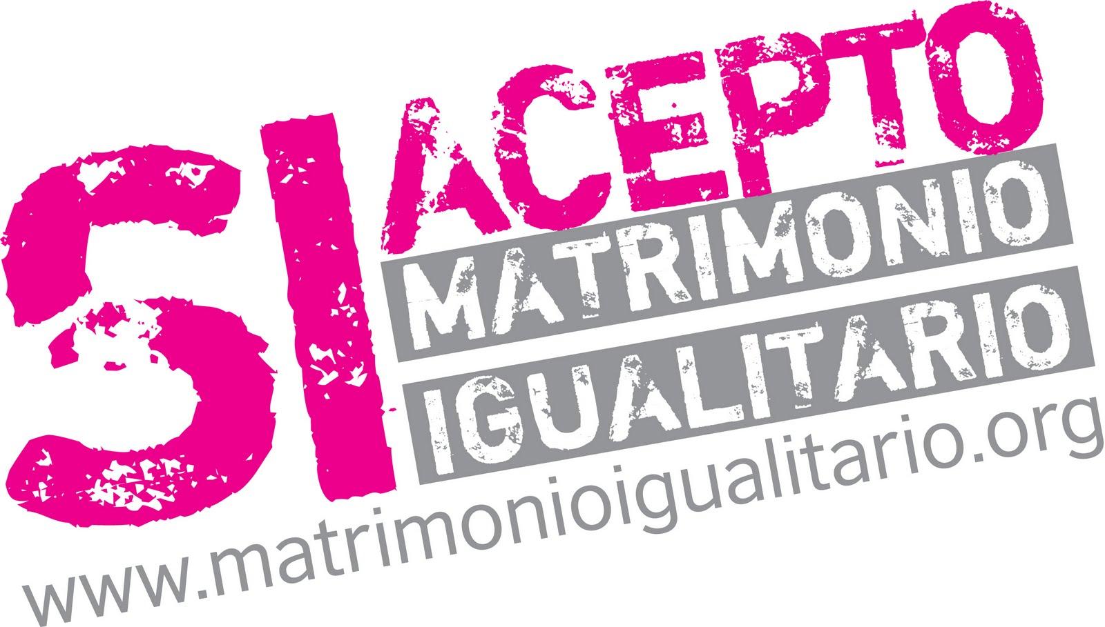 Sí Acepto, la campaña a favor del matrimonio igualitario