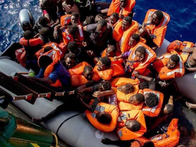 Al menos 249 desaparecidos en el Mediterráneo tras naufragios
