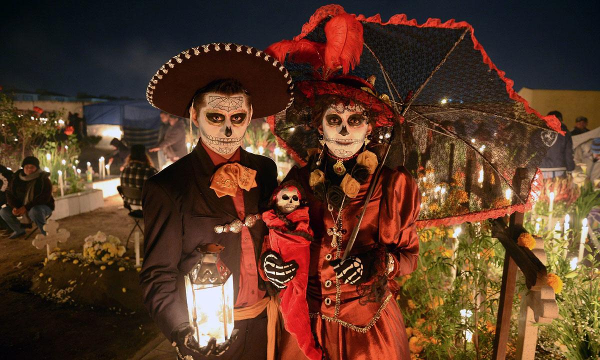 Los 5 mejores lugares para disfrutar del Día de Muertos