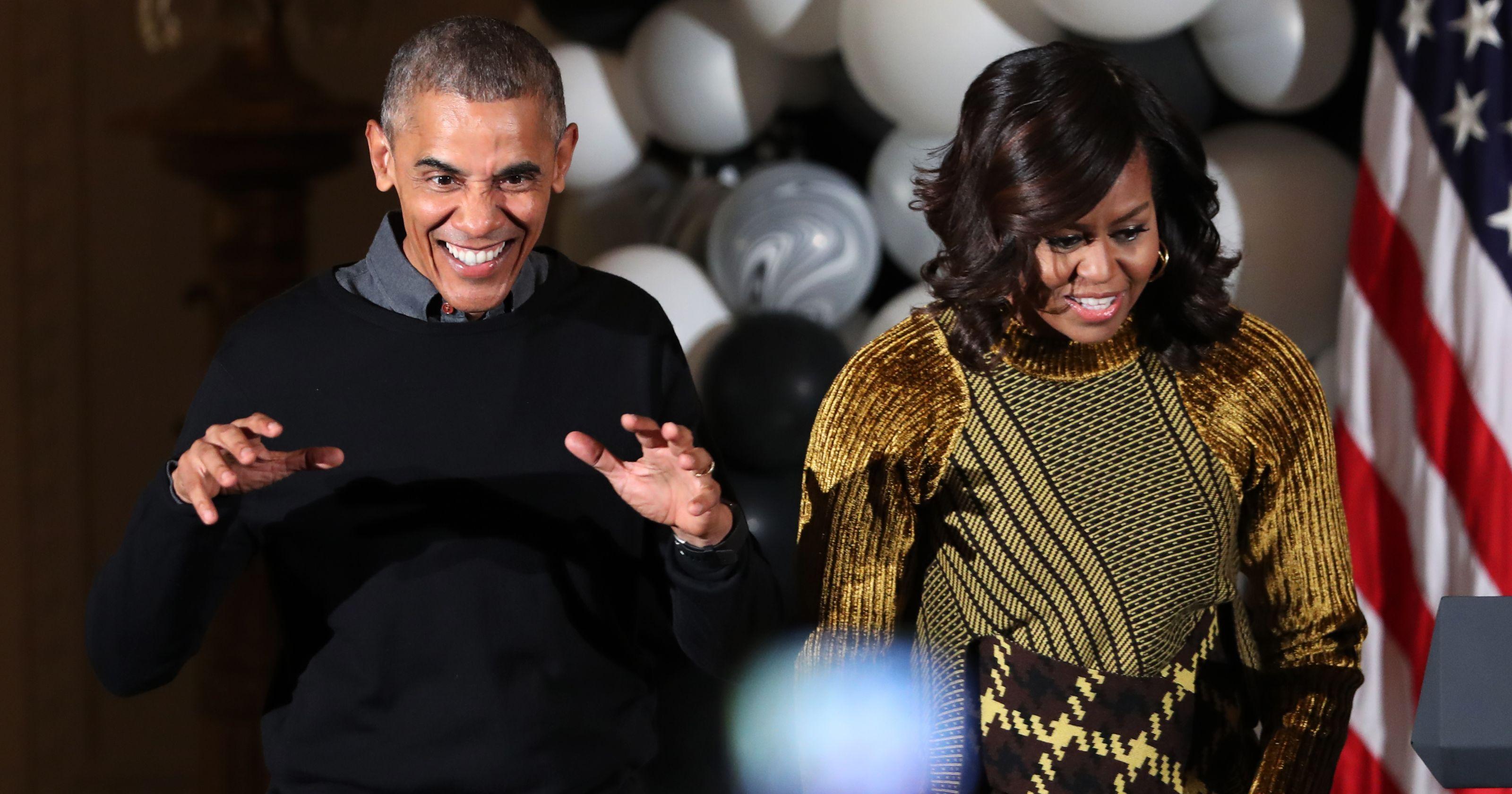 'Thriller', el último baile de Halloween de los Obama en la Casa Blanca