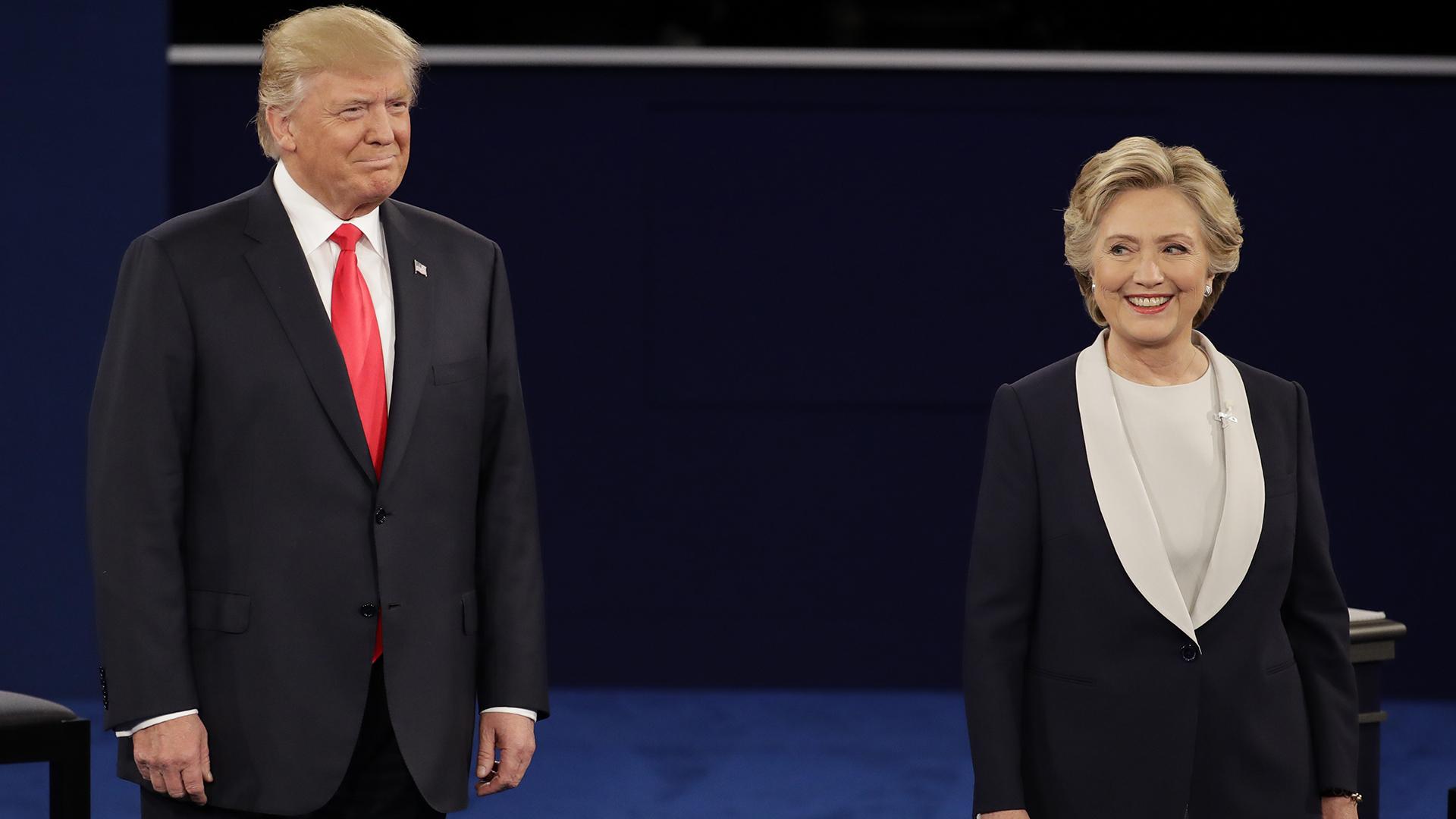 ¿Qué pasaría si Clinton y Trump quedan empatados?