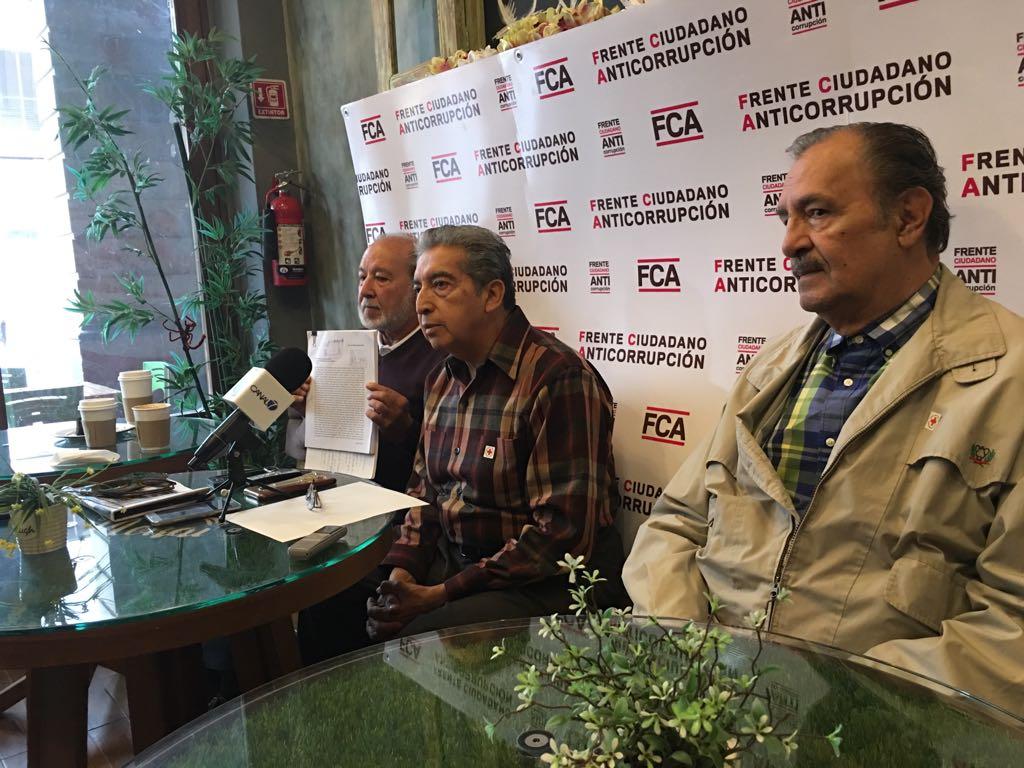 FCA presenta segunda denuncia en contra de Gallardo por enriquecimiento ilícito