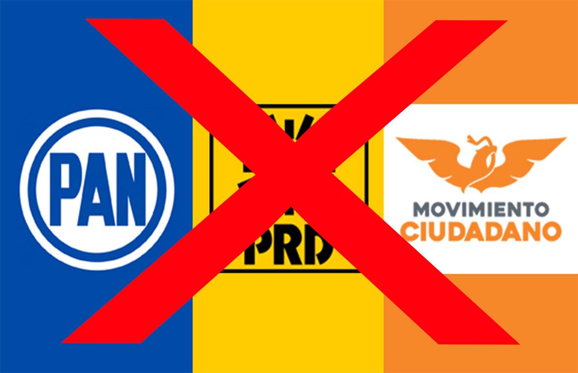 No habrá alianza PAN-PRD-MC en elección de diputados locales