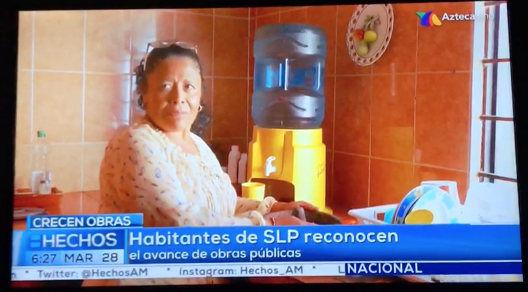 """Con """"reportaje"""" en TV Azteca, lleva Gallardo promoción personalizada a cadena nacional"""