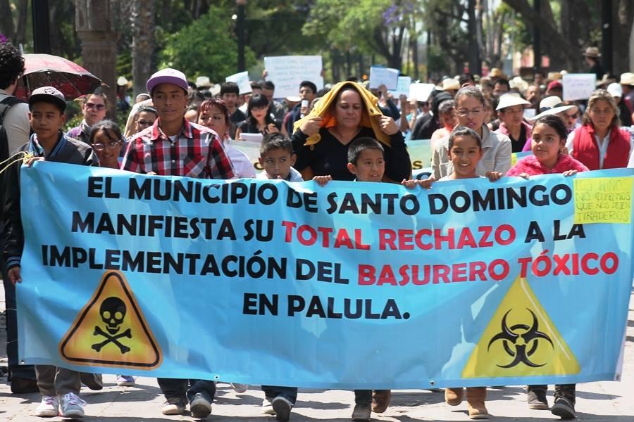 Habitantes de Santo Domingo obtienen amparo contra tiradero tóxico de Palula