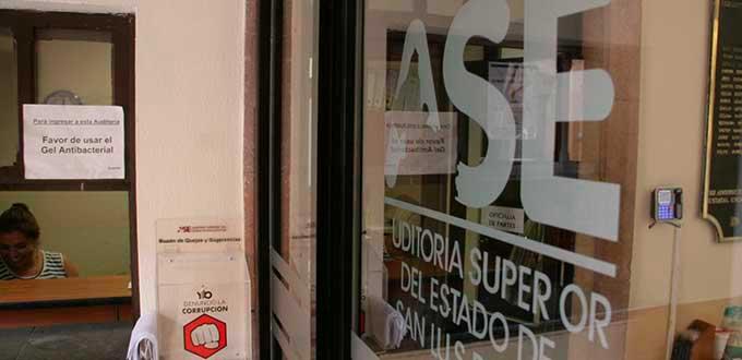 En febrero se determinaría responsabilidad de la ASE en revisiones del ejercicio fiscal 2018