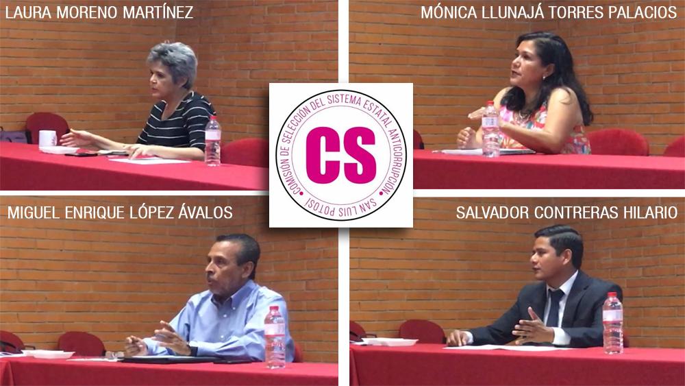 Entrevistan a aspirantes al Comité Ciudadano Anticorrupción