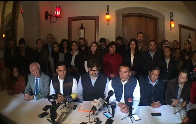 Marcelo de los Santos, Sonia Mendoza y Octavio Pedroza apoyan candidatura de Jorge Lozano a dirigencia del PAN