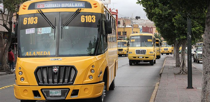 Concesionarios y permisionarios del transporte público podrán ser multados si incumplen con protocolos sanitarios