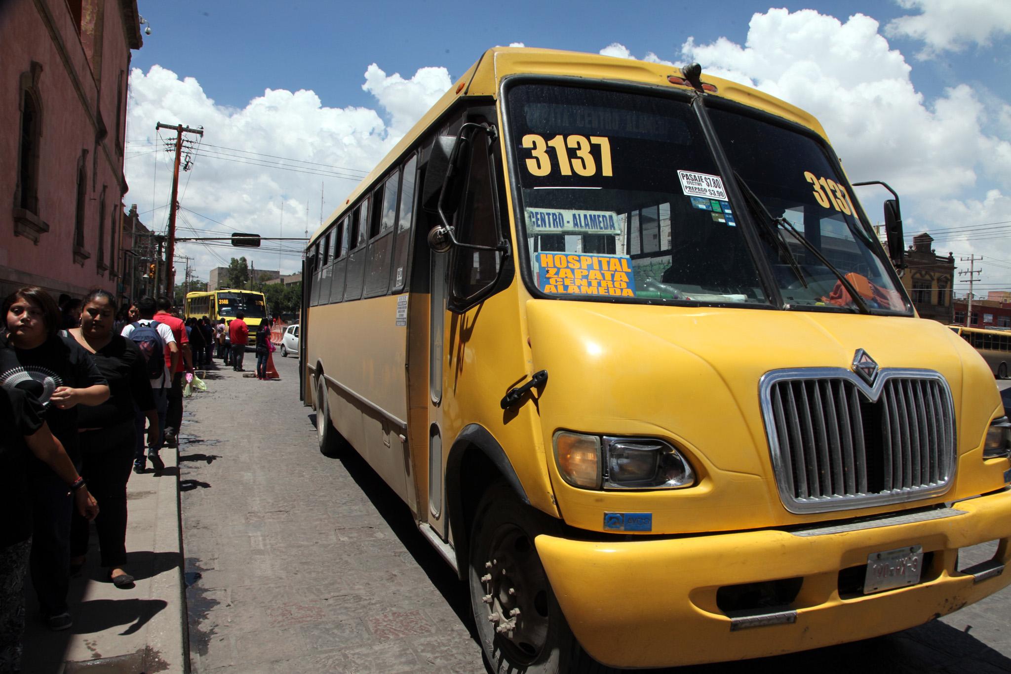 Cambio por San Luis y diputada promoverán amparos contra aumento a tarifa de transporte