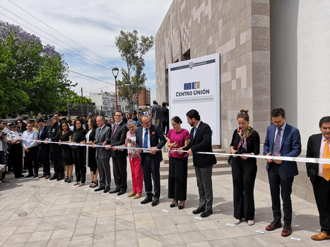 """En instalaciones del antes edificio Subcomandancia Centro, Ayuntamiento municipal inaugura """"Centro Unión"""""""