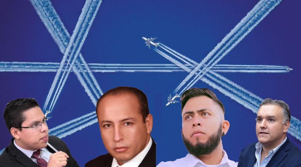 Edson, Konishi, Balderas y Gabino, implicados en contratación de 'aviadores' en el Congreso (audio)