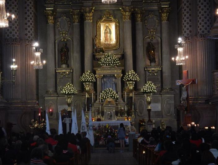 Hombre profanó sagrario en el Santuario de Guadalupe (video)
