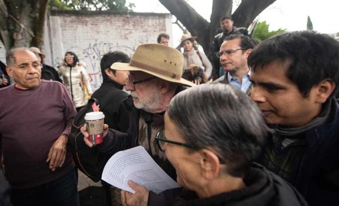 Critica vocero del FCA asistencia de Nava Palacios a Caminata por la Verdad