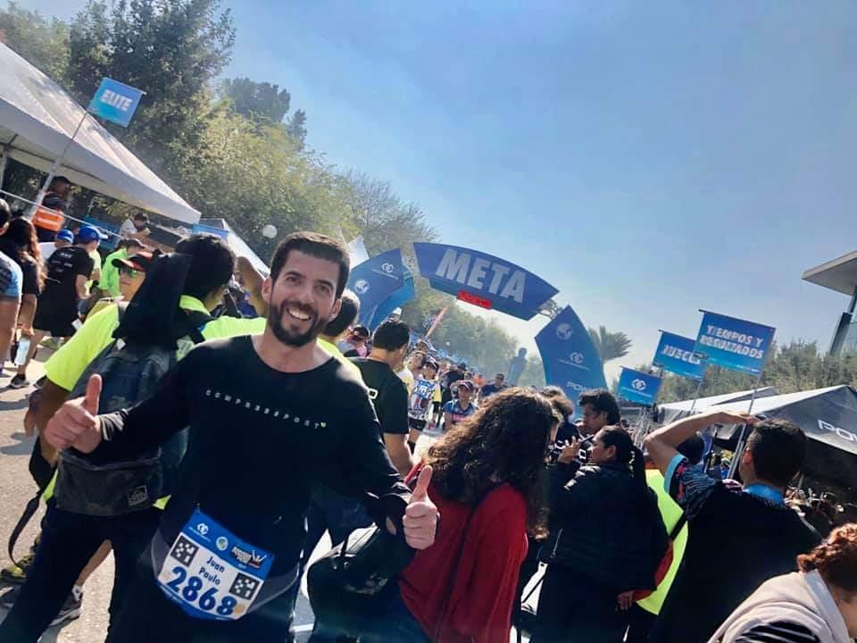 Almazán Cué viajó en vehículo oficial a maratón en Monterrey