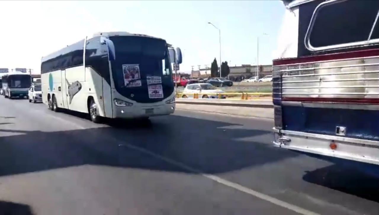 Por inseguridad y pérdidas por Covid-19, se manifiestan transportistas