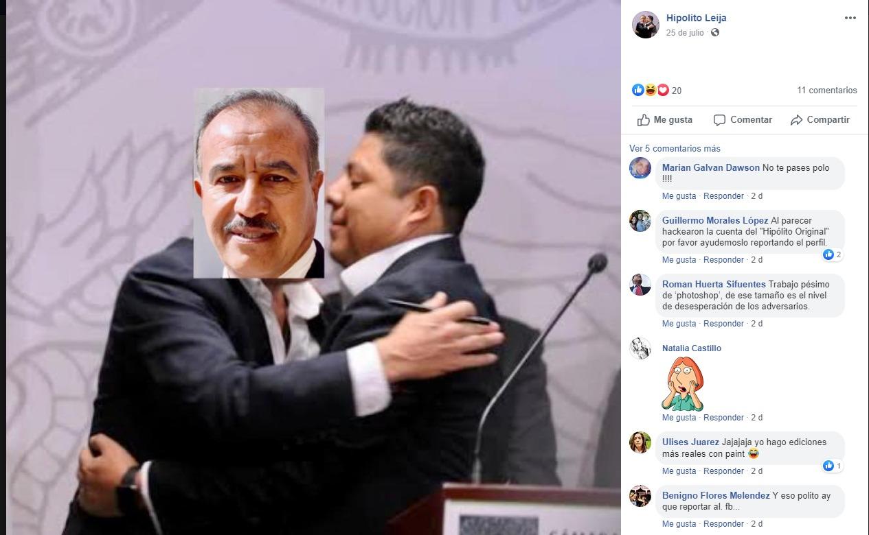 """'Hackean"""" cuenta de Facebook de regidor de Morena en Soledad"""
