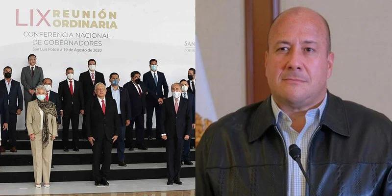 Fue inútil el encuentro de la Conago en SLP: gobernador de Jalisco