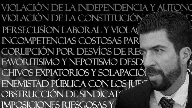 Almazán Cué: el magistrado más señalado del Poder Judicial