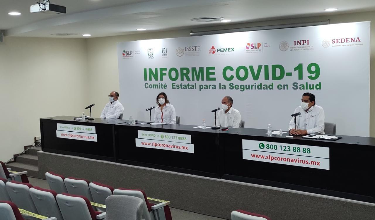 Casi dos mil personas han fallecido por covid-19 en SLP