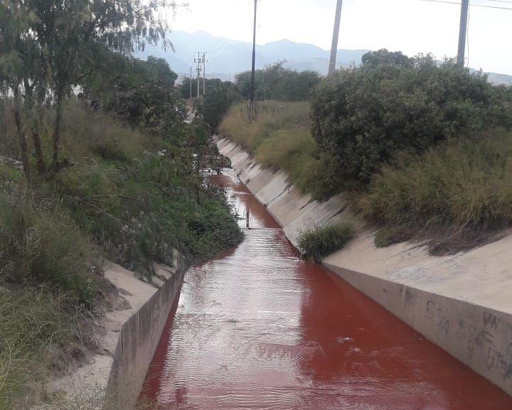Descarga Zona Industrial aguas 10 a 15 veces más tóxicas a lo permitido sobre ejido Arroyos