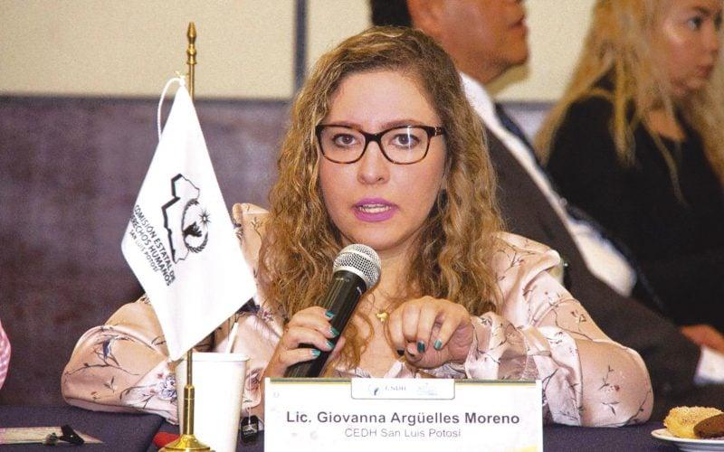 Eligen a Giovanna Itzel Argüelles como titular de la CEDH