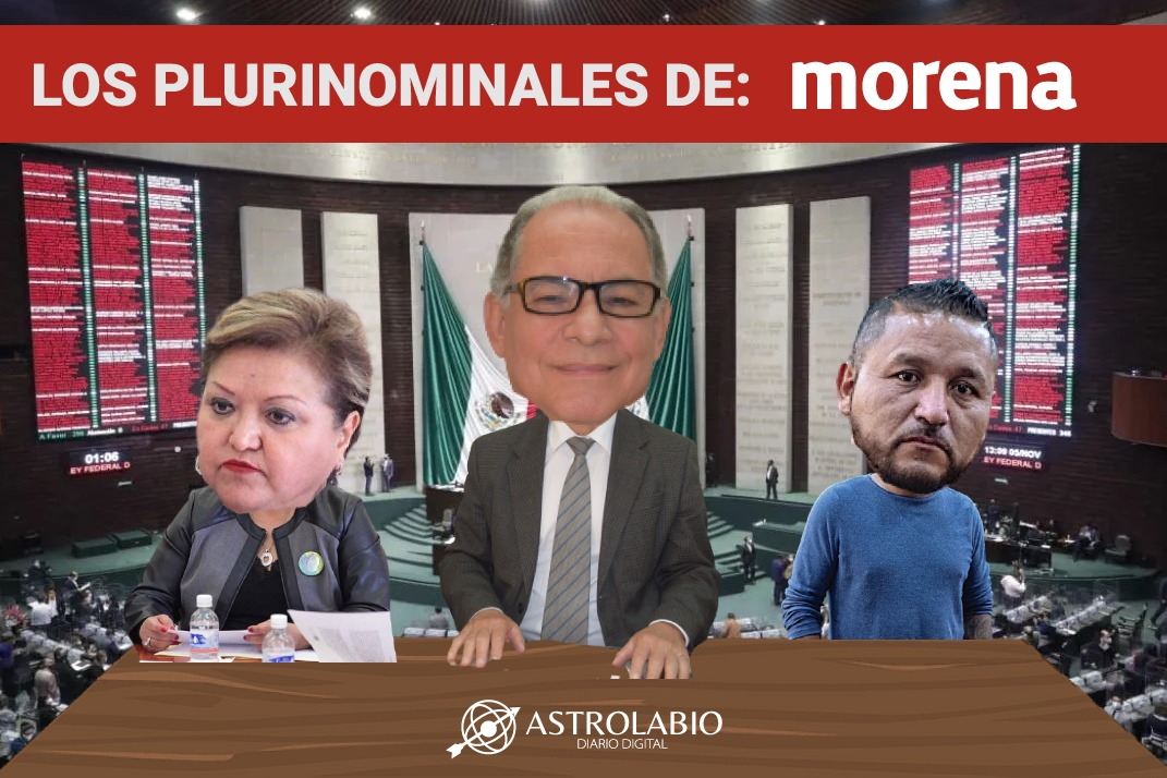 'El mijis', Martha Barajas y Juan Ramiro Robledo, candidatos de Morena a 'pluris' federales