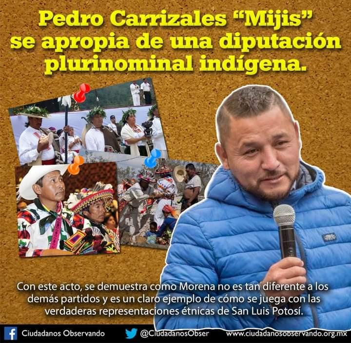 Ciudadanos Observando critica candidatura de 'El Mijis'