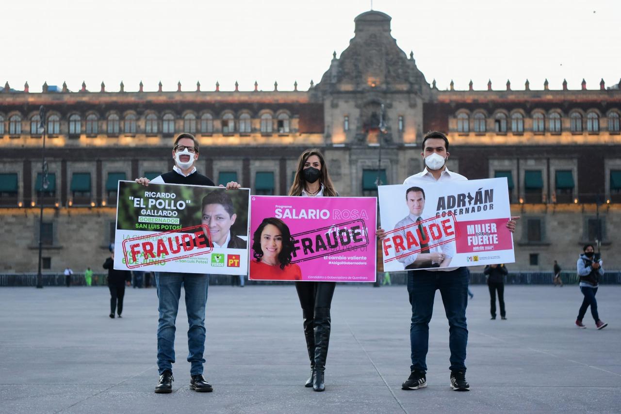 """Integrantes de Movimiento Ciudadano denuncian a Gallardo ante la Fepade por """"La cumplidora"""""""