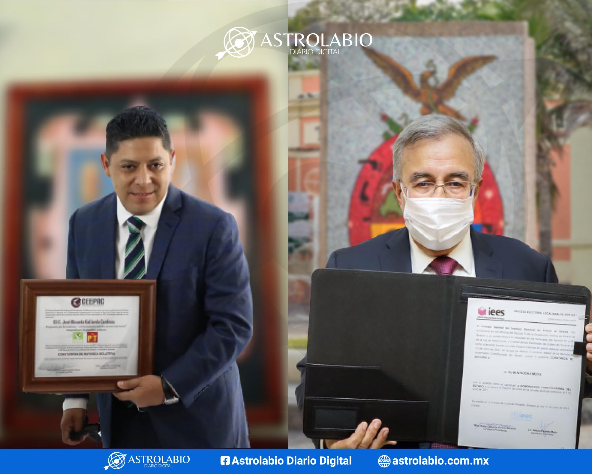 Centro Nacional de Inteligencia investiga a  Ricardo Gallardo y Rubén Rocha: Milenio