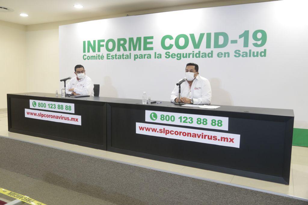 SLP registra repunte de casos de COVID-19