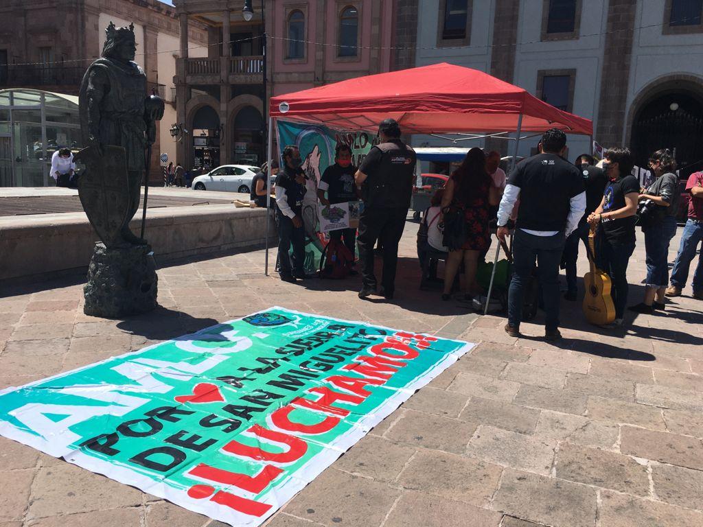 Activistas defensores de Sierra de San Miguelito denunciarán a Conanp y Semarnat