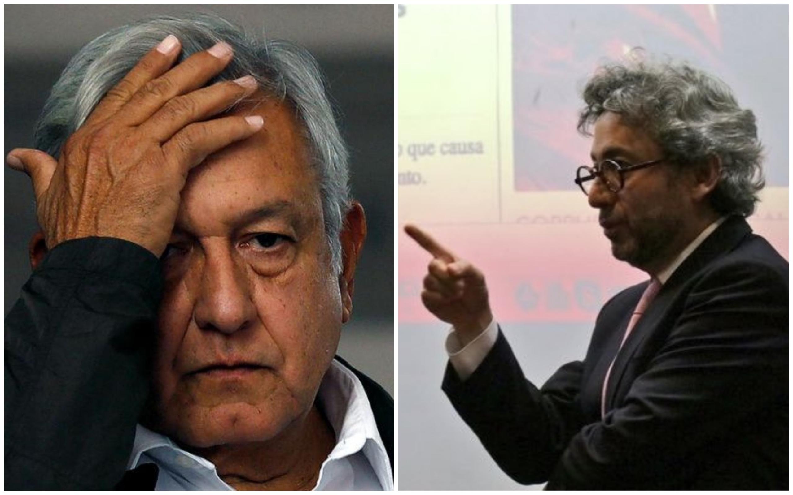 """AMLO bendijo a """"Los Gallardo"""": Salvador Camarena"""